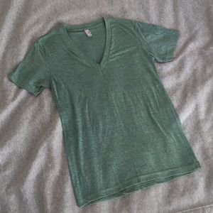 American Apparel Shirts - American Apparel TriBlend Deep V Tshirt